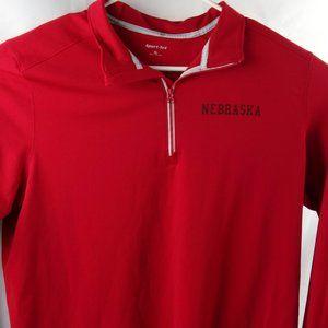University of Nebraska Cornhuskers Mens XL 1/4 Zip